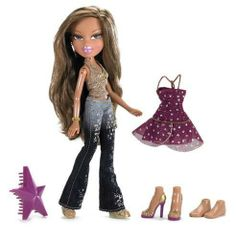 Bratz P4F Yasmin by MGA Entertainment. $19.99. Mix ?n' Match Fashions for Unlimited Fashion Play. Fashions Seen in the Bratz? Passion 4 Fashion? DVD. Recommended Age Range 6+. From the Manufacturer                When you're a fashion model, you step into the spotlight and celebrate who you are.  The Bratz expresses their true selves through their fashion.  They always have been, they always will be¿ the only girls with a passion for fashion!                           ...