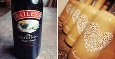 Domácí Baileys:Na předražený likér z obchodu si nikdo nevzpomene Starbucks Iced Coffee, Baileys, Coffee Bottle, Whisky, Cream, Drinks, Cooking, Sweet, Food