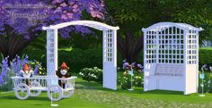 Garden objects by Granny Zaza at The Sims Models • Sims 4 Updates