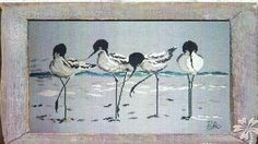four tall sandpipers 1/4
