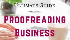Thinking of becoming a freelance proofreader but not sure where to start? Here's a breakdown of the steps for setting up a freelance proofreading business. How To Find Out, How To Make Money, How To Become, Proofreader, Work From Home Jobs, Extra Money, Boss Lady, Business Ideas, Productivity