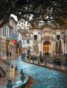 Streets of Avignon, France. Ig you love French culture & history then Avignon, France is a brilliant city break Places Around The World, Oh The Places You'll Go, Travel Around The World, Places To Travel, Travel Destinations, Places To Visit, Europe Places, Dream Vacations, Vacation Spots