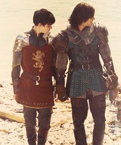 Edmund and Caspian