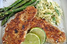 Pecan-Crusted Tilapia Adapted from Cooking Light magazine All-purpose flour for dusting fish 1 egg, beaten to blend ¼ cup finely ground pecans ¼ cup Panko bread crumbs, unflavored Kosher salt and freshly ground black pepper 4 (6-ounce) tilapia fillets 1 – 2 tablespoons canola oil Serves 4