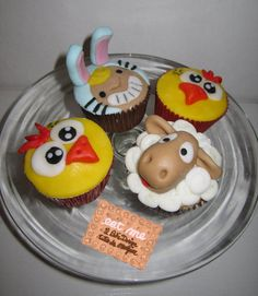 Easter Cupcakes  Cake by Eatmecakedesign