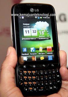 Harga Handphone LG Optimus Pro C660 | Kemajuan Teknologi