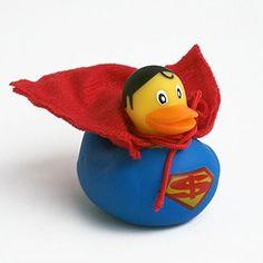 rubber duck superman