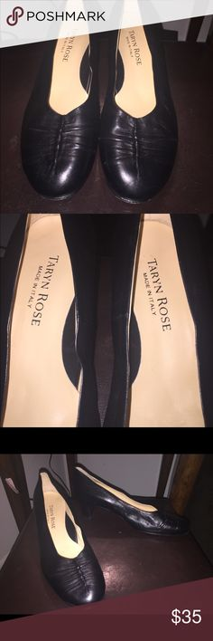 Taryn Rose black leather pumps Classic & quality style staple for your wardrobe . Taryn Rose black leathers pumps - made in Italy . Excellent condition . Taryn Rose Shoes Heels