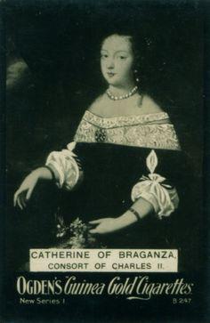 "https://flic.kr/p/nc3sxB | Cigarette Card - Catherine of Braganza | Ogden's ""Guinea Gold"" Cigarettes c1902 Catherine of Braganza, Consort of Charles II"