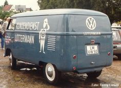 Fusca Classic: Kombi barn-door 1950 Lottermann