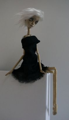 E engages Ennui ... OOAK Art Doll by burymebaubles on Etsy