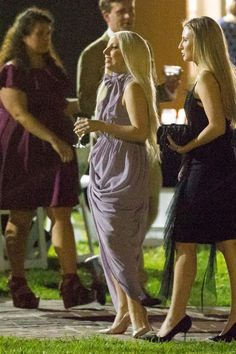 Lady Gaga Looks Simply Beautiful As A Bridesmaid At Her Best Friend's Wedding
