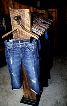 Free standing barnwood clothing rack by davesdigs on Etsy, $525.00