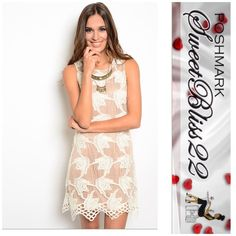 Sealed With A Kiss Fun, flirty, and cute! This is a must have dress for the Summer! Comes in M,L98% POLYESTER 2% SPANDEX ⭐️S,M,L ⭐Small measures 34 inches in the bust Medium measures 36 inch in the bust ⭐️Large measures 39inches in the bust  Don't miss out!!! Dresses