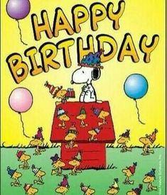 Peanuts Gang Comics Snoopy Birthday Happy Stampin Up Crafting