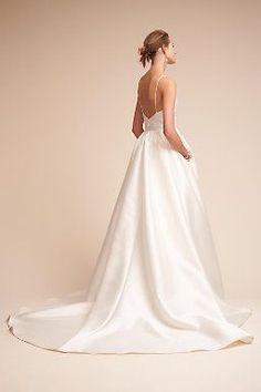Opaline Ballgown (like pockets but wish it was shorter and cream)