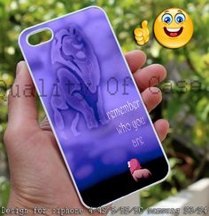 Simba Remember Who You Are The Lion King Design by QualityOfCase, $14.89