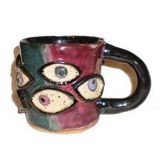 Eye Cup #44 With Ten Eyes