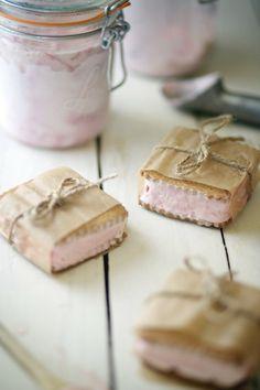 Chasing delciious. Loveliest ice cream sandwiches ever #ice #cream #sandwich