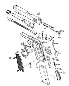 1911 schematic Save those thumbs & bucks w/ free shipping on this magloader I purchased mine http://www.amazon.com/shops/raeind  No more leaving the last round out because it is too hard to get in. And you will load them faster and easier, to maximize your shooting enjoyment.  loader does it all easily, painlessly, and perfectly reliably
