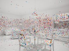 Yayoi Kusama: Give Me Love Exhibition at David Zwirner Gallery, New York City » Retail Design Blog