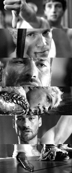 Spartacus: Blood and Sand - Spartacus & Varro