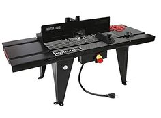 Porter cable 698 router table best tools for the hobbyist aluminum top bench work router table stationary power table 34 x 13 table you keyboard keysfo Images