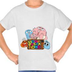 Gumball - Home Kendin Tasarla - Çocuk Tişört