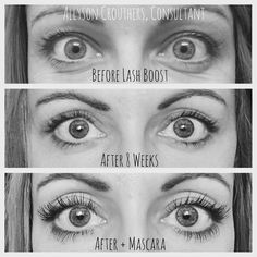 Awesome lash Boost results