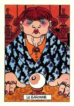 """Jeux pour mourir, """"La Baronne"""", 1992, Casterman"""