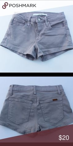 Joes Jeans Short grey Jean shorts size 24 Excellent condition!! 24 inch waist.. Smoke free pet free home Joe's Jeans Shorts Jean Shorts