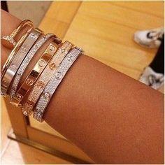 "Cartier ""Love"" Bracelets"