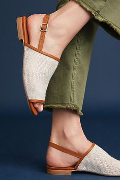 2f3c245bb2a9c4 Charlotte Stone Luella Slingback Sandals Designer Sandals