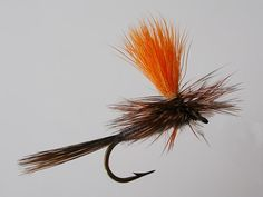 Adams Parachute Orange Dry Fly