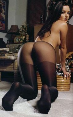 Women stockings bent in Gorgeous