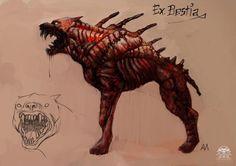 Ogar.  Salamandra na początku prowadziła badania nad zwierzętami. Efekt był zadowalający, więc po zmutowaniu zostały wcielone do armii. Tresowane i wypuszczane do walki są przez nadzorców.