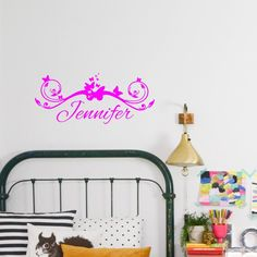 Personalized Custom Name Butterflyes Gilrls Decal Vinyl Wall Decal Sticker Decal in Home & Garden, Home Décor, Decals, Stickers & Vinyl Art | eBay