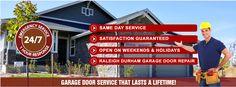 Affordable Garage Door Repairs Experts in Raleigh Durham, NC. Visit http://www.yelp.com/biz/raleigh-durham-garage-door-experts-research-triangle-park