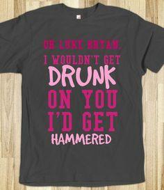 I love luke bryan Women s T-Shirts
