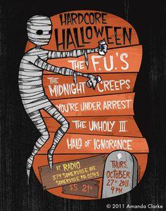 Image of HH12 - Hardcore Halloween - Amanda Clarke