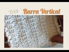 Barra Vertical em Tricô - YouTube Crochet Hats, Knitting, Stuff To Buy, Handmade, Youtube, Patterns, Cape Clothing, Knitting Patterns, Crochet Batwing Tops