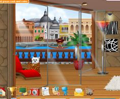 Juguemos a Pet City: Windows and balconies in perspective