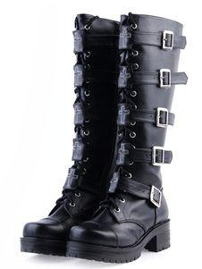 lolita botas de moda, gothic lolita botas, lolita botas de alta qualidade - Lolitashow.com