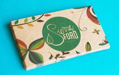 200 Business Cards or tags  13 PT brown kraft paper with