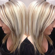 Ooh - All About Hairstyles Medium Hair Styles, Curly Hair Styles, Hair Highlights And Lowlights, Medium Layered Hair, Hair Color And Cut, Bleached Hair, Great Hair, Hair Trends, Hair Inspiration