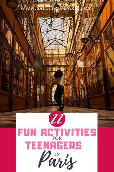 Travel to Paris with Teenagers – get the best ideas to keep your teen engages! 22 Fun activities for Teenagers and tweens and everyone who searches for fun ideas in Paris! You next family trip to Paris will be amazing! Eiffel Tower Tickets, Paris Things To Do, Paris Travel Tips, Restaurant Paris, Road Trip With Kids, Paris Love, Paris Hotels, Disneyland Paris, France Travel