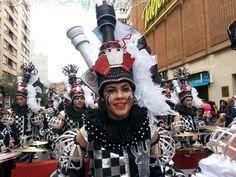 Gran desfile de comparsas del Carnaval de Badajoz 2015