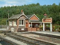Signal Box, Levisham station, North York Moors Railway
