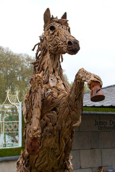Rearing horse by James Doran Webb at Chelsea Flower Show 2012