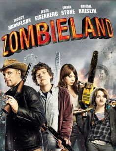 Zombieland (DVD, Comedy Horror Rated R Region 1 Woody Harrelson Emma Stone Films Hd, Comedy Movies, Hd Movies, Movies Online, Movie Tv, Watch Movies, Action Movies, Best Horror Movies List, Scary Movies
